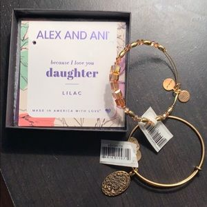 NWT Alex & Ani Daughter and Crystal Bracelets